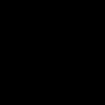 A logo da AECS, simbolizando pessoas unidas de mãos dadas.